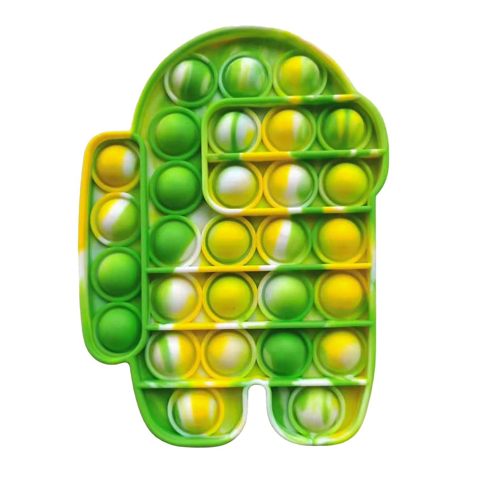Lustige Pops-Es Zappeln Spielzeug Anti-Stress-Spielzeug Für Erwachsene Kinder Push-Blase Zappeln Sensorischen Spielzeug Squishy Jouet Gießen Autiste антистресс