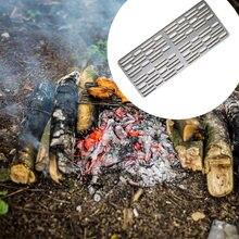 Титановая сетка для гриля древесный уголь гриль барбекю кемпинга