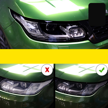 Lsrtw2017 TPU Car Headlight Film Protective Sticker for Range Rover Evoque Discovery Sport 2 Discovery 4 5 Velar Freelander