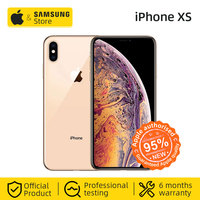 Unlocked Original Apple iPhone XS Smartphone A12 5.8 inch OLED Full Screen 12MP Dual Camera(Used 95% New)