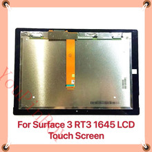 10.8 ''a cristalli liquidi Per Microsoft Surface 3 RT3 1645 Lcd Display Touch Screen del Pannello Combo Sostituzione del Sensore di Vetro Superficie RT 3 parti
