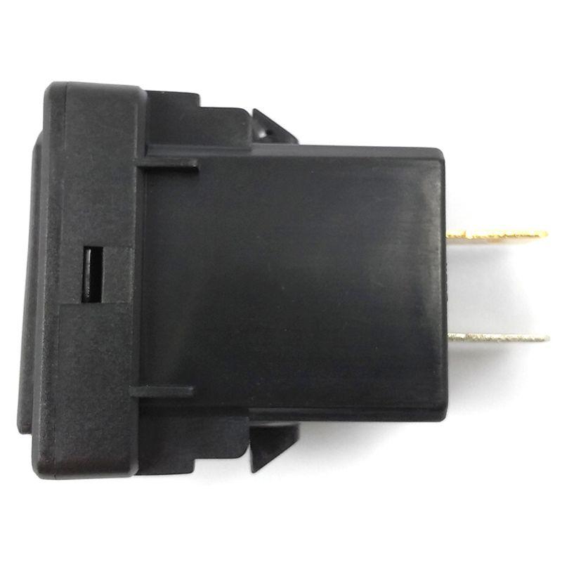 12V 24V 37 × 23mm 2.4A Dual USB Auto Ladegerät LED Voltmeter Für Honda Handy 28TE