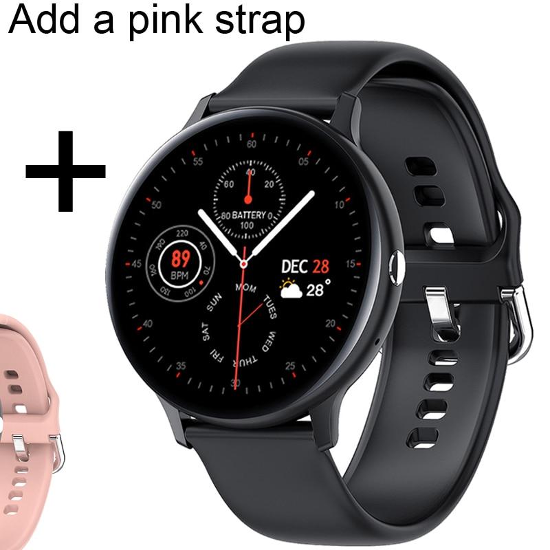 Add pink strap