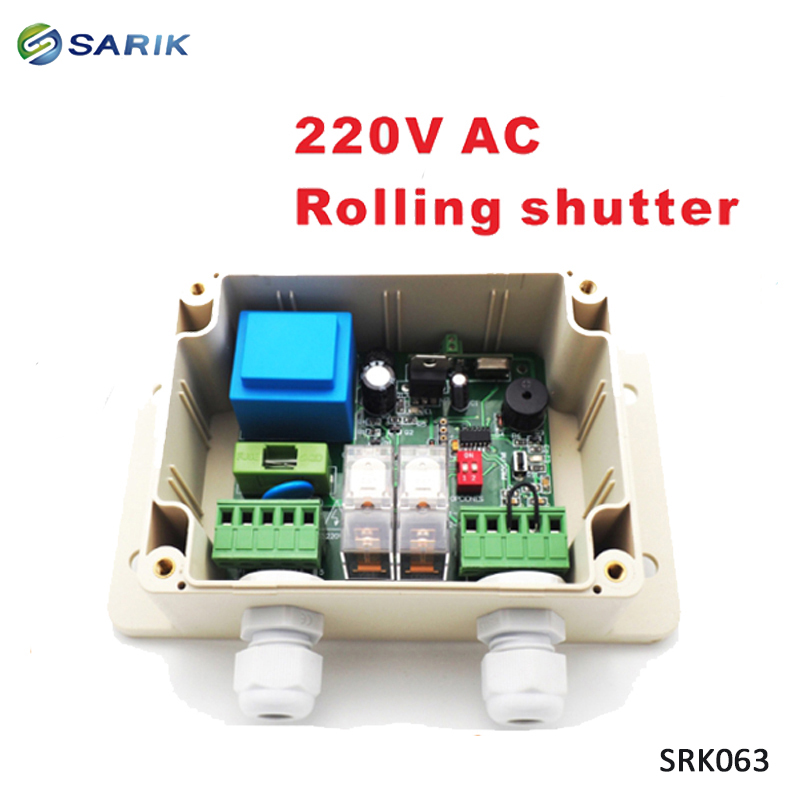 Swing gate opener motor pcb circuit board controller card for 220V AC swing linear motor actuators
