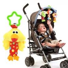 Baby Speelgoed Pasgeboren Jongen Meisje Baby Handbell Developmental Peuter Bed Handkar Zacht Speelgoed Olifant Aap Eend Leeuw Hond Fawn