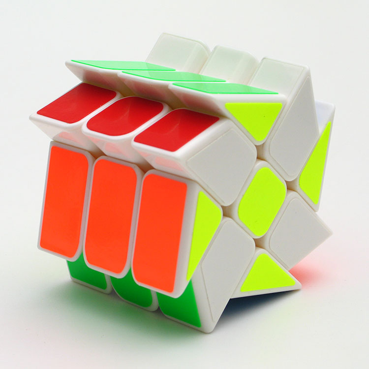 YongJun YJ Windmill 3 Layers 3x3x3  Magic Cube Strange-shape Magic Speed Cubo Professional Puzzle Toys For Children Kids Gift