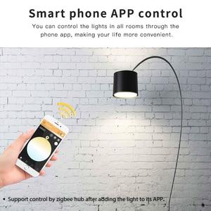 Image 3 - GLEDOPTO LED ZIGBEE ZLL 12W RGB + CCT glühbirne Bunte birne AC100 240V RGBCCT 2700 6500K led lampe kompatibel mit Amazon echo plus