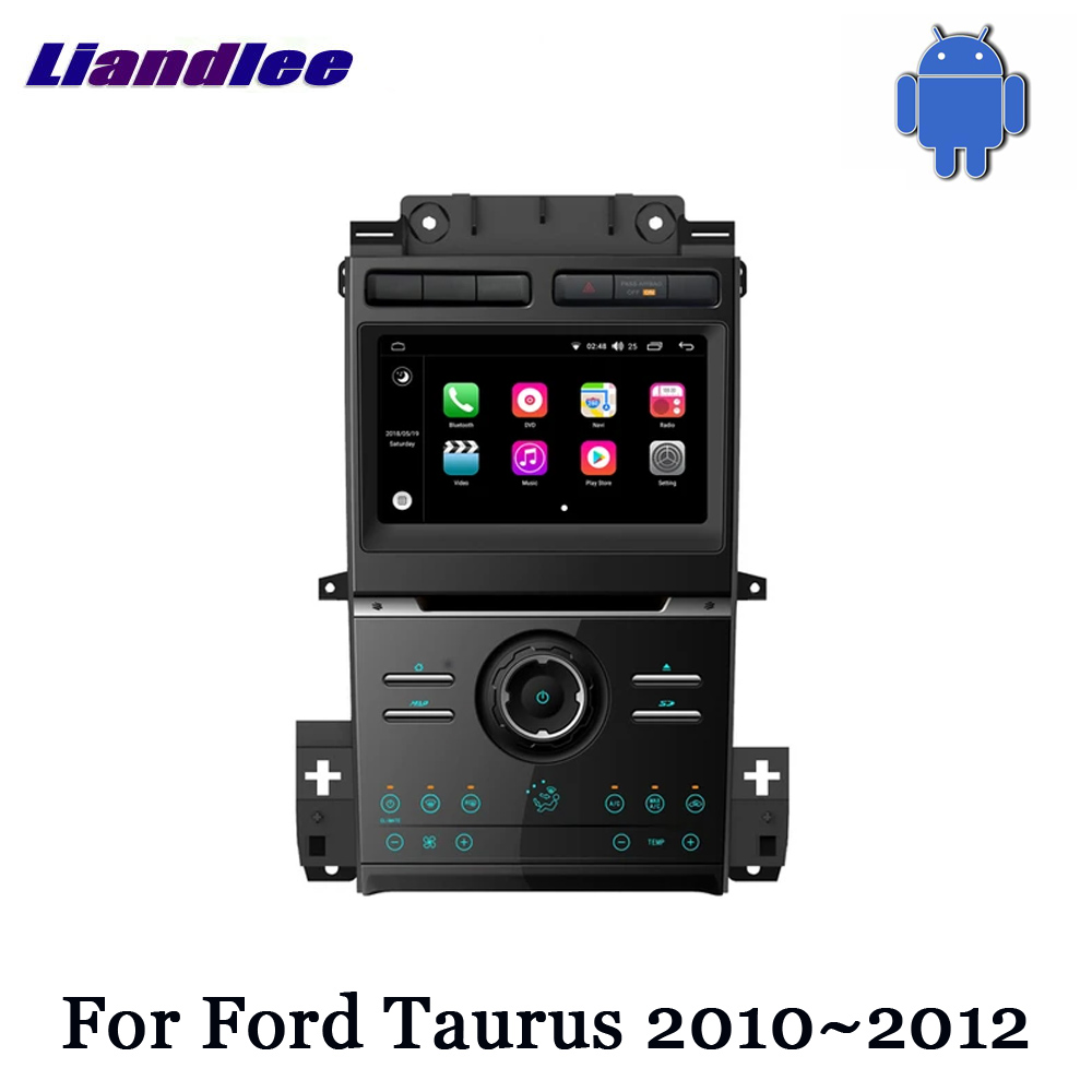 Car Vehicle GPS Navigation For Ford Taurus 2010 2011 2012 Radio Android TV DVD WIFI HD Screen Multimedia System