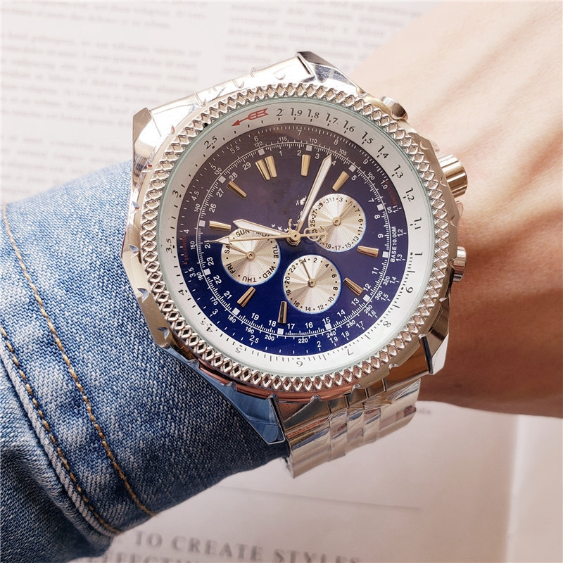 FOSSIL Luxury Quartz Watch for Men with Stainless Steel Strap Chronograph Retro Dial Mens Watchses relojes hombre 2019