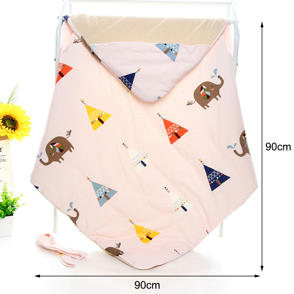 Dos desenhos animados de algodão quente recém nascido embrulho colcha sacos de dormir inverno recém nascido swaddling cobertor envelope para o bebê presentes do miúdo - 6