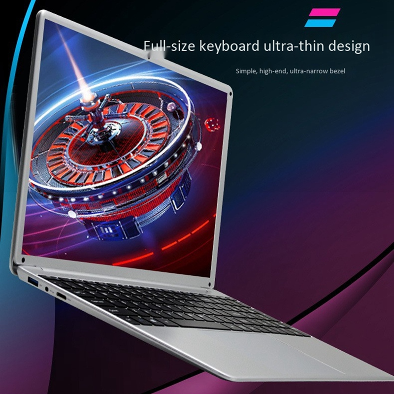 cheapest Gaming laptop 15 6 inch Metal Body  i7 4500U 16GB RAM Windows 10 Notebook for Student Game Office Work with BT WiFi Webcam