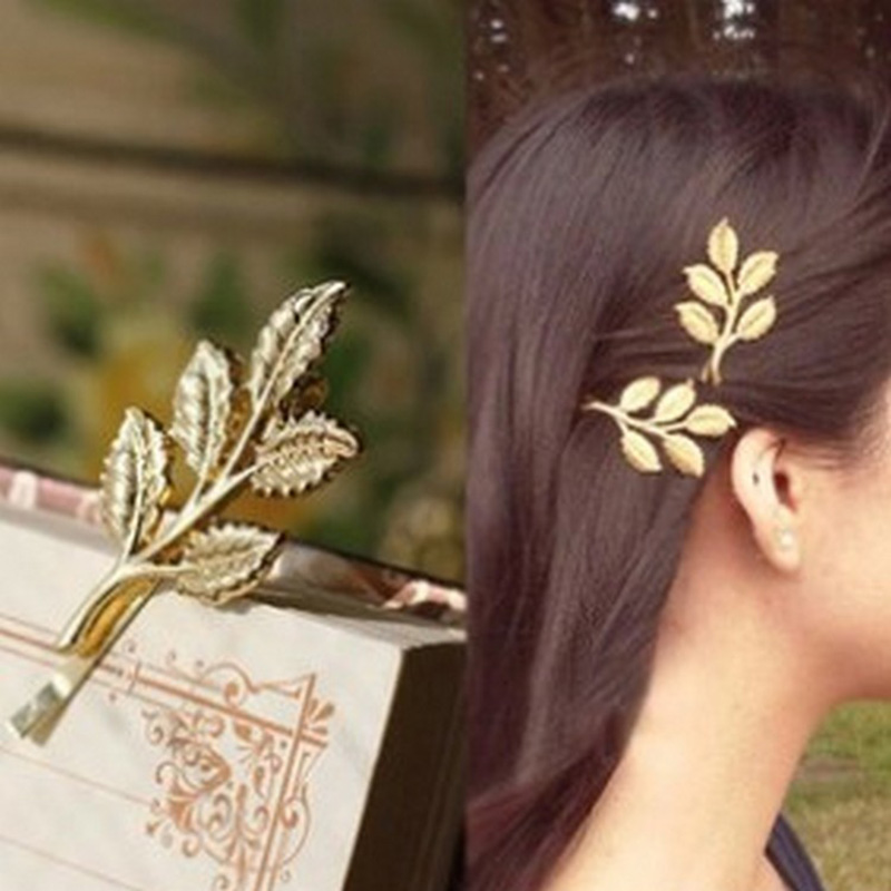 2PC 2019 Restoring Ancient Ways Alloy Athena Branches Butterfly Leaves Image Hair Pins Fashion Women Head Wear Hair Accessories