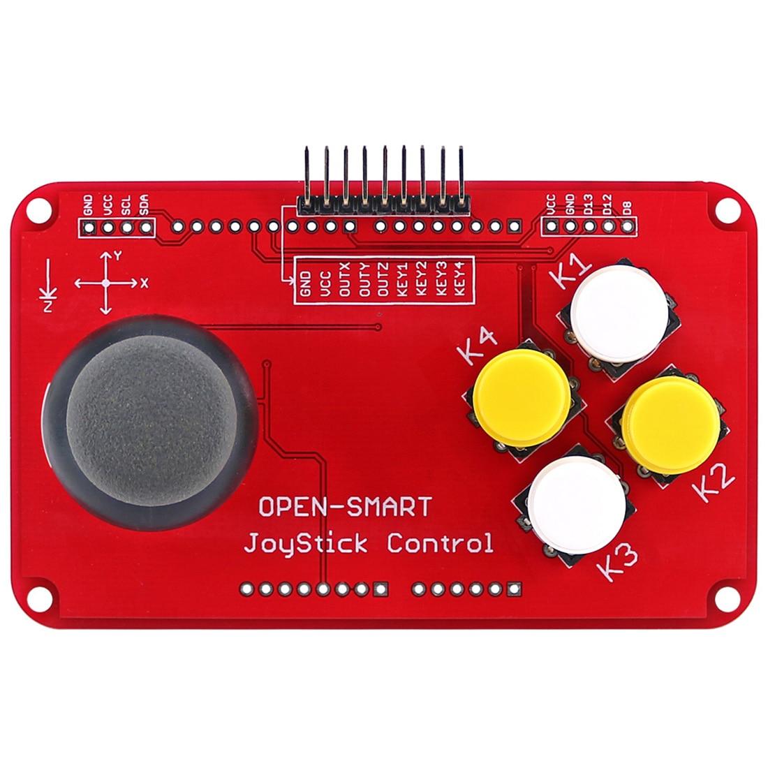 New PS2 Joystick Keypad Shield Joystick Game Controller Breakout Module Shield For Arduino / Nano / Pro Mini