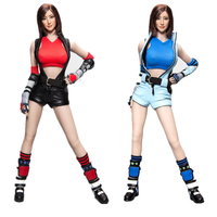 1/6 Scale Fight Girl Fantasy Character Set with Head Sculpt for 12inch Action Figure Body Accessories DIY Style CAT TOYS CT013