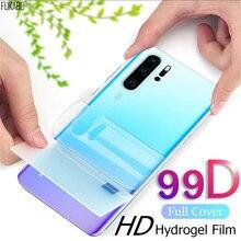 Película de hidrogel frontal y trasera 99D para Huawei P30, P20, P40 Lite Pro, Nova 5t, Protector protectores de pantalla para Honor Mate 20, 30 Lite Pro, no cristal templado vidrio