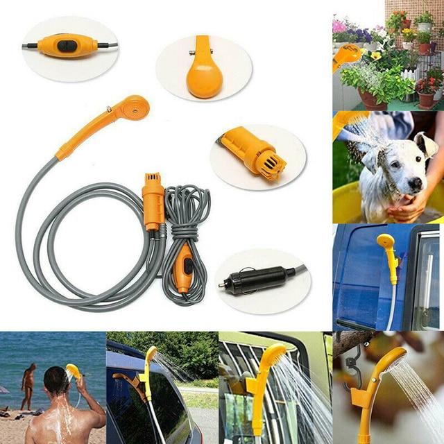 12V Electric Travel - Portable Pet Shower/Washer  3