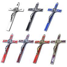 Церковные мощи Иисуса на стенде Крестовая стена распятие антикварная домашняя Часовня Декор