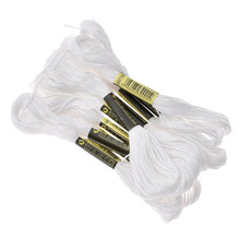 Threads Floss Polyester Embroidery Thread Hand Sewing DIY Cross Stitch Floss Handcraft String Supplies DIY Sewing Accessories tanie tanio Solid Other CN(Origin) Rolled Up 100 Polyester Europe