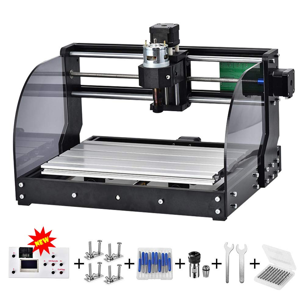 Upgrade 3018 Pro Offline CNC Max Laser Engraver GRBL DIY 3Axis PBC Milling Laser Engraving Machine Wood Router