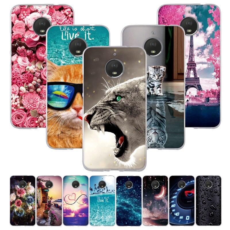 """For Motorola Moto E4 Plus Case 5.5"""" Silicon Soft TPU Cover For Moto E4 Plus Case Cover For Motorola Moto E Plus (4th Gen.) Coque"""