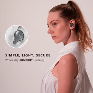 Image 5 - DOSS Cloud Fox Freepods auriculares TWS, inalámbricos por Bluetooth 5,0, auriculares inalámbricos con emparejamiento de un paso, micrófono incorporado con tiempo de reproducción de 15H