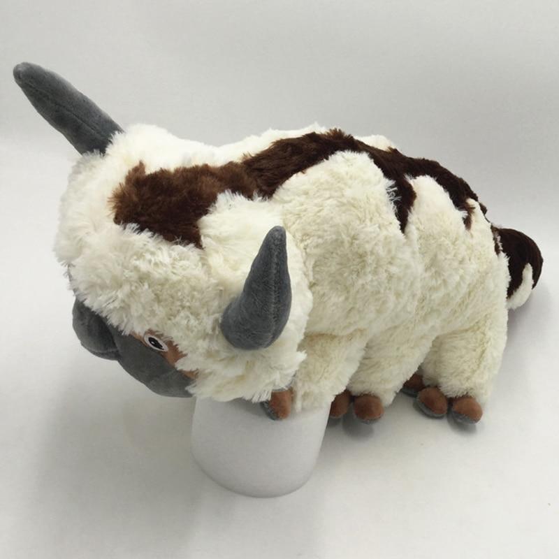 45 Cm Cute Appa Plush Toy The Last Airbone Cow Appa Soft Stuffed Plush Animal Doll Kids Boy Girl Gift WJ551