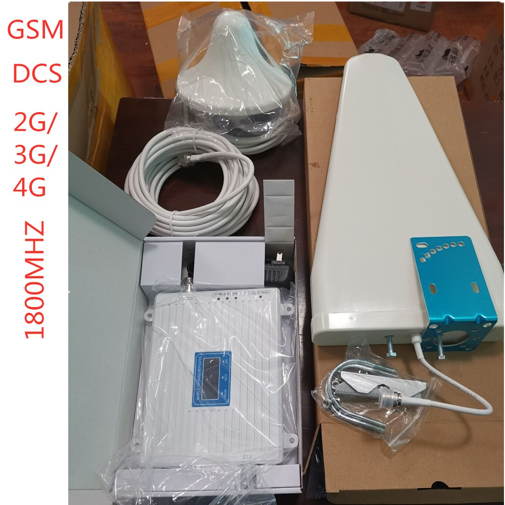 Cell Phone Signal Amplifier GSM DCS 2G / 3G / 4G Signal Booster Mobile Unicom Telecom Triple Play Amplifier Export