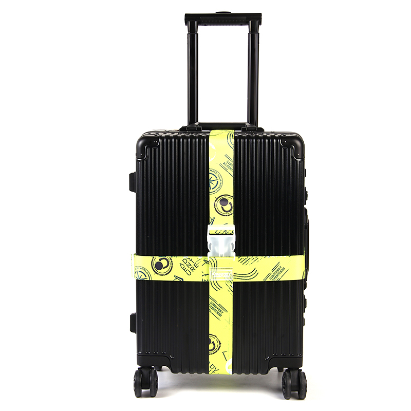 Button Buckle Adjustable Nylon Luggage Straps Luggage Accessories Hanging Buckle Straps Suitcase Bag Straps Good Quality