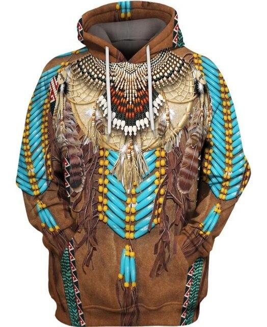 hot sale Native Indian 3D Hoodies/sweatshirts Men Women New Fashion Hooded winter Autumn Long Sleeve streetwear Pullover-10 6