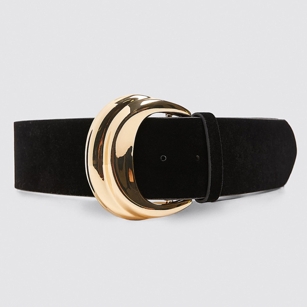 H391499058827491ab7d6728d53264f03D - Girlgo Newest Vintage Velvet Buckle Belt for Women Punk Metal Gold Color Belly Chain Accessories Jewelry Party Gifts Bijoux