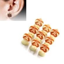 1Pair/lot Acrylic Ear Plugs Tunnels Gauges Flesh Earrings Tunnel Plug 10mm Set Body Jewelry