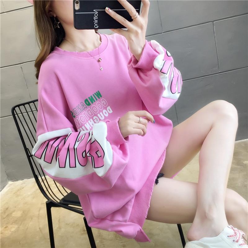 Oladivi plus size feminino outono hoodies casual