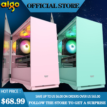 Aigo-mini tempered glass case for pc gamer