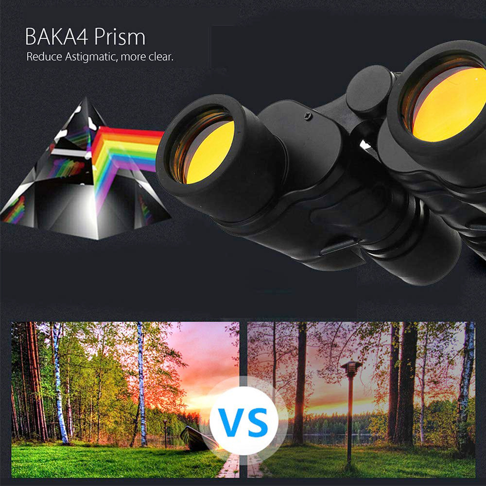 APEXEL High Power Optical Waterproof Binoculars Vision Telescope Night 10000M Binoculars For 60X60 Hunting Professional Outdoor