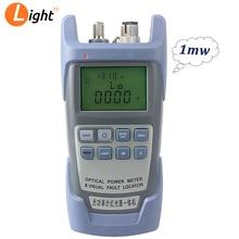 AUA 9 Potenza del Laser In Fibra Ottica FTTH Misuratore di Potenza Ottica Tester del Cavo Consegna Gratuita