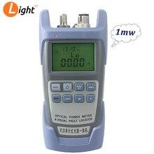 Aua 9 potência do laser ftth fibra óptica medidor de alimentação cabo tester entrega gratuita