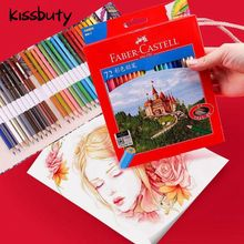 цена на 12 24 36 48 60 72 Colored Pencil Set Artist Painting Professional Water Soluble Color Pen Set For Drawing Sketch School Supplies