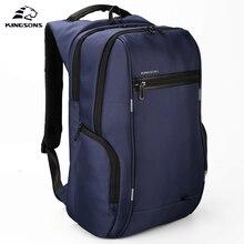 Kingsons ks3140w 13.3 15.6 17.3 polegada multi função do portátil das mulheres dos homens mochila de negócios lazer viagem sacos escolares mochila