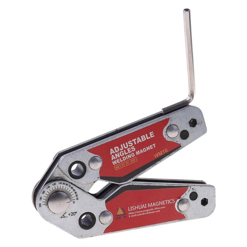 Corner Fixture Magnetic Adjustable Clamp Welding Locator Welding Holder Magnets