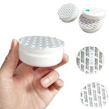 100Pcs Druk Seal Cap Liners Cosmetische Jar Fles Pot Schuim Veiligheid Sabotage Voedsel Pakking Zeehonden Pad 20Mm/24Mm/28Mm/38Mm Zwart Lettertype