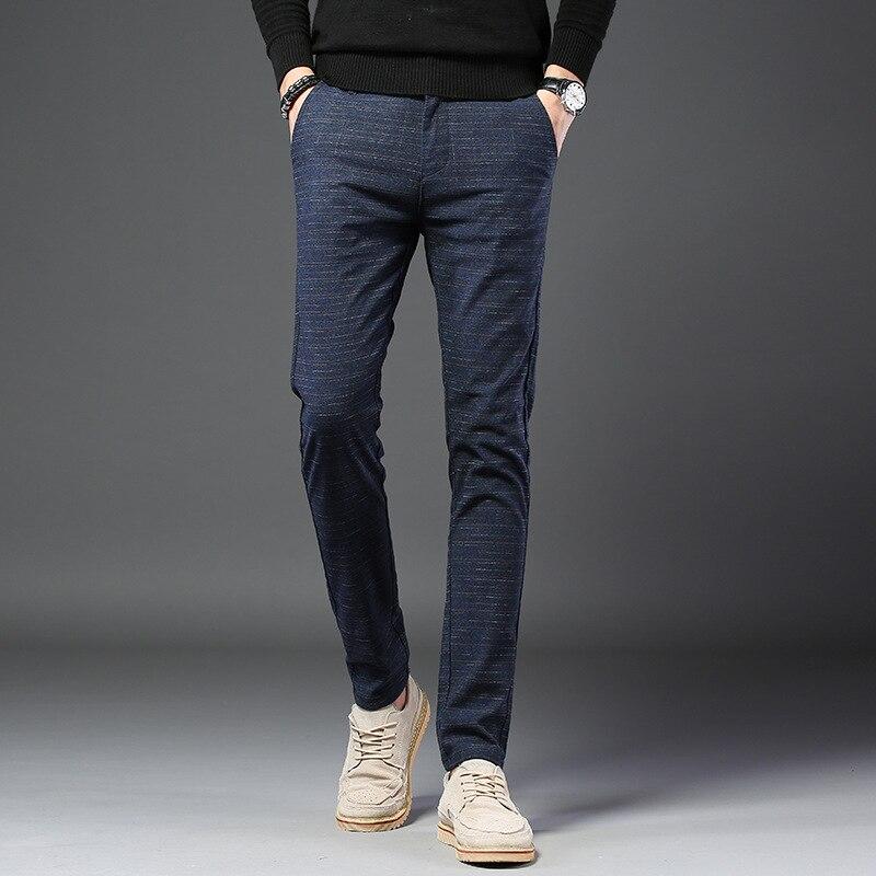 2019 Summer Men's Casual Cotton High Quality Pants Fashion Long Pants
