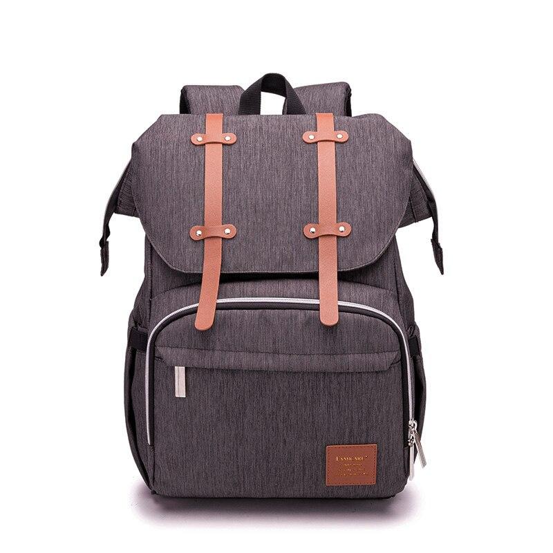 Diaper Bag Backpack Mummy Dads Travel Bags Baby Stroller Bag USB Charging Waterproof Oxford Maternity Nursing Nappy Handbag New
