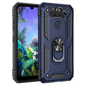 Phone Case For LG Aristo 5,LG Aristo 5 Plus,LG K31,LG Risio 4,Fortune 3,LG Phoenix 5 Shockproof Heavy Duty Armor with Kickstand