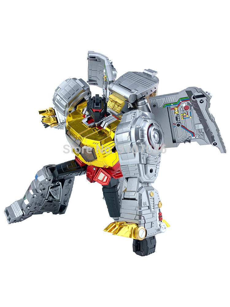 IN STOCK Transformers TOY GP HQ-01R HQ01R Superator G1 Grimlock CHROME Version