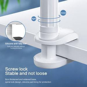 Image 4 - SmartDevil 유니버설 홀더 for iPad 접이식 홀더 for iPhone 12 Pro Max 침대 침대 옆 게으른 브래킷 360 클립