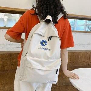 Image 4 - Moda dayanıklı kızlar okul sırt çantası yüksek kaliteli su geçirmez naylon okul çantası güzel tarzı Schoolbag kitap sırt çantası genç için