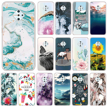 For vivo S1 Pro 4G Soft TPU Back Cover For vivoS1Pro vivoS1 S 1 Pro 6.38 Phone Cases Cute Silicone Clear Luxury Fundas Coque image
