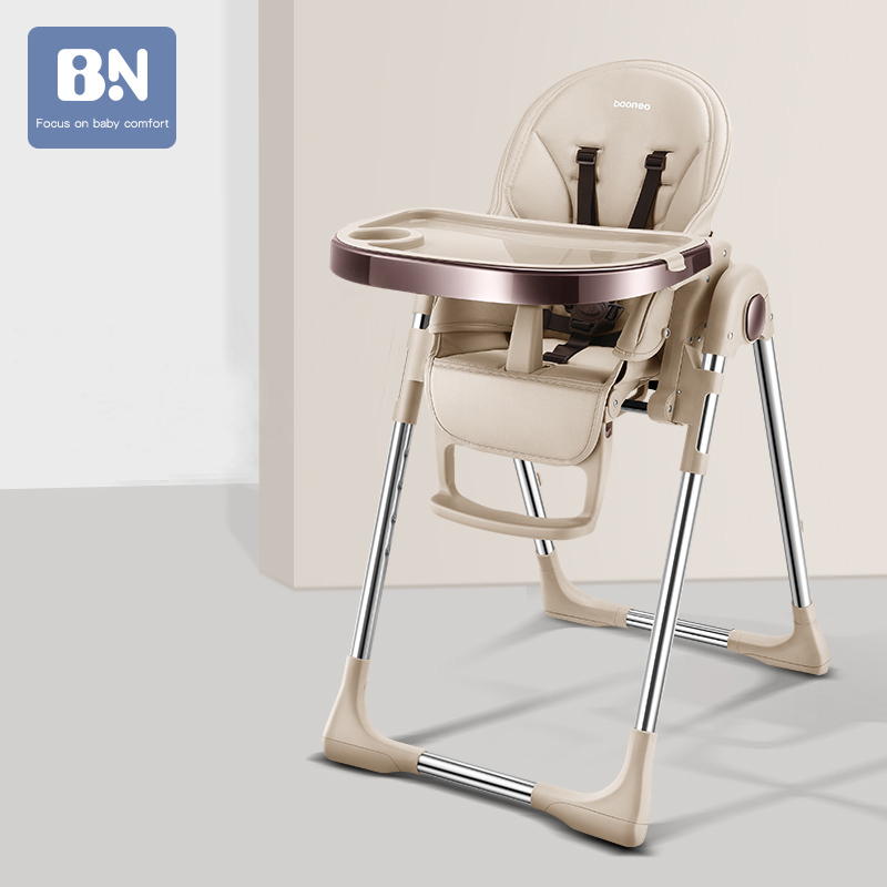 BAONEO Baby Chair Dining Chair Multifunctional Foldable Portable Baby Chair Dining Table Chair
