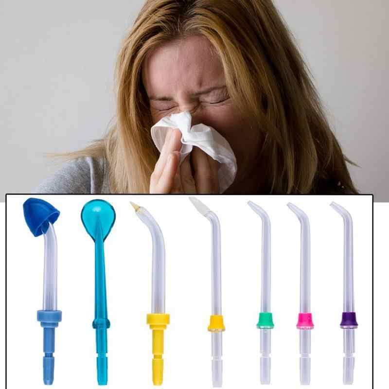 9 sztuk zestaw do mycia jamy ustnej irygatory zestaw do wymiany domu porady do czyszczenia języka ortodontyczne Flossers wody opieki zdrowotnej podróży szpital
