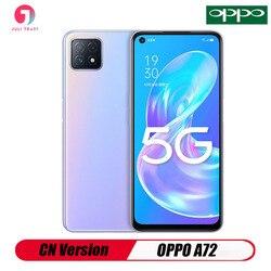 Оригинальной версии CN Oppo A72 5G смартфон 6,5 дюймов 2400*1080 быстрой зарядки 18 Вт Snapdragon 720G 16MP Камера 3,5 мм для наушников